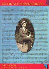 Paul Richter - Streichquartett Nr. 2 in d-Moll op. 99 : Gesamtpartitur und 4 Einzelstimmen