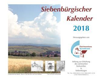 Siebenbürgischer Kalender 2018