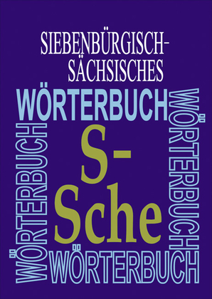 Siebenbürgisch-Sächsisches Wörterbuch