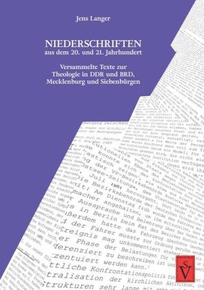 Niederschriften aus dem 20. und 21. Jahrhundert