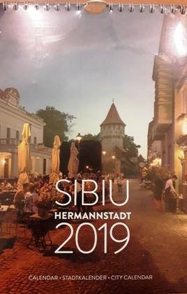 Calendar - Stadtkalender - City Calender Sibiu Hermannstadt 2018