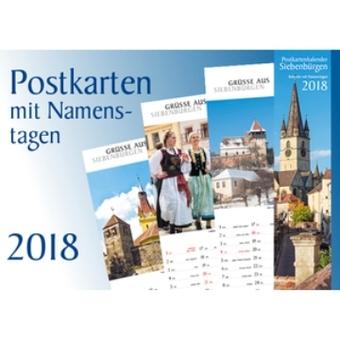 Postkartenkalender Siebenbürgen 2018 - Der schmale Kalender mit Platz für Notizen