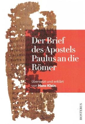 Der Brief des Apostels Paulus an die Römer